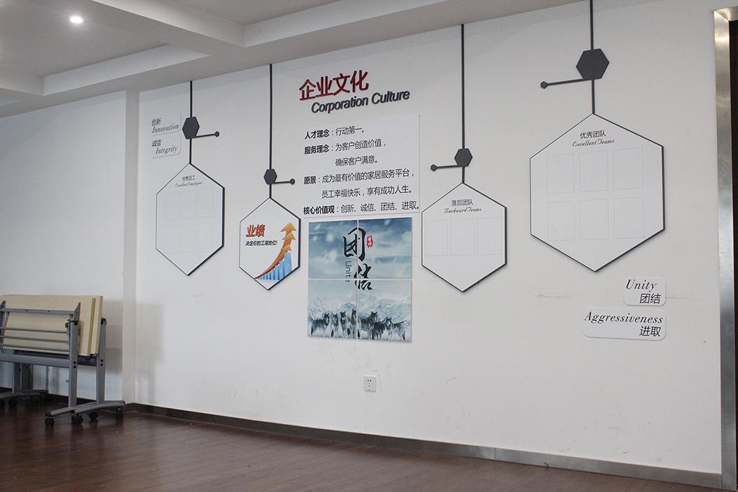 员工形象墙论+�_企业文化墙在向客户和员工展示企业形象墙方面也起到非常重要
